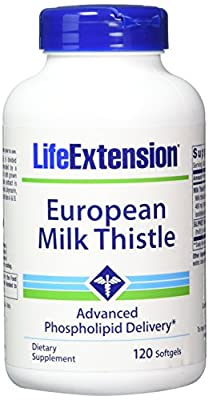 Life Extension - Certified European Milk Thistle 750 Mg