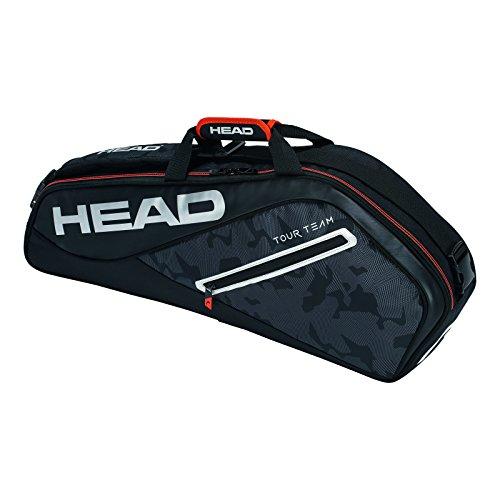 (HEAD  Tour Team 3R Pro Tennis Bag Black/Silver)