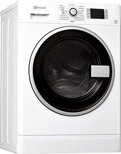 Bauknecht WATK Prime 9614 Waschtrockner / 234 kWh / / Startzeitvorwahl und Restzeitanzeige / Mischwäsche und Wolle Programm / weiß