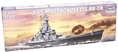 Trumpeter 1/700 USS Massachusetts BB59 Battleship Model Kit