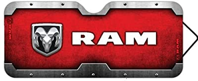 Dodge Ram Logo Accordion Style Car Truck SUV Front Windshield Sunshade