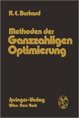 Book Methoden der Ganzzahligen Optimierung