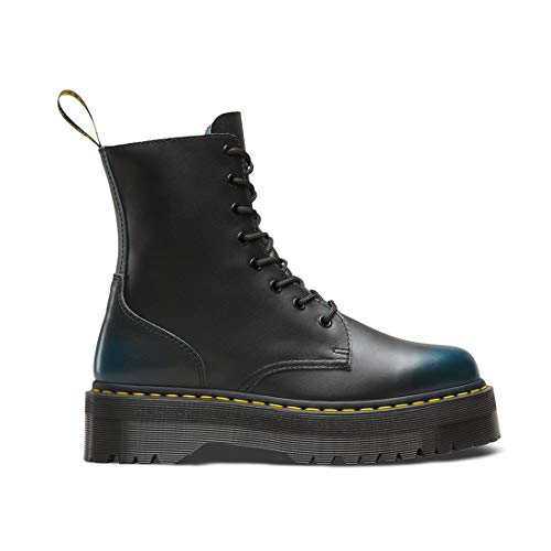 martens Boots Leather Dr Blue 8 Womens Jadon eyelet gOCnPqSwv