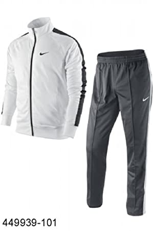 Nike Trainingsanzug Classic Poly Warm Up Herren Jogginganzug in Gr. L Fitness & Training Fitnessbekleidung