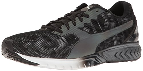PUMA Women's Ignite Dual Swan WN'S Cross-Trainer Shoe, Puma Black-Puma White, 10.5 M US