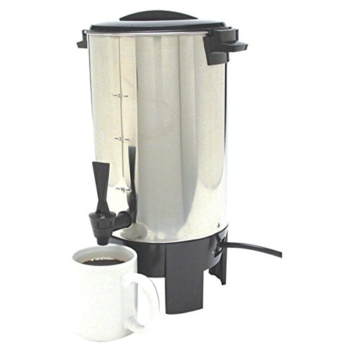Classic Concepts SSU30 30 Cups Stainless Steel Coffee Urn RYLP257