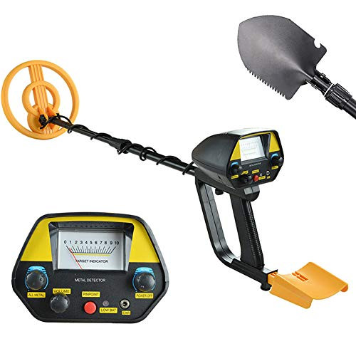 Metal Detector, Waterproof Detectors with Pinpoint Function for Adults High Accuracy Metal Finder with Accessories Shovel
