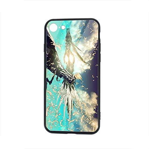 Coototo Trigun Unisex Design Light Weight Mobile Phone Tempered Glass Shell Case Accessories Protection 5.5