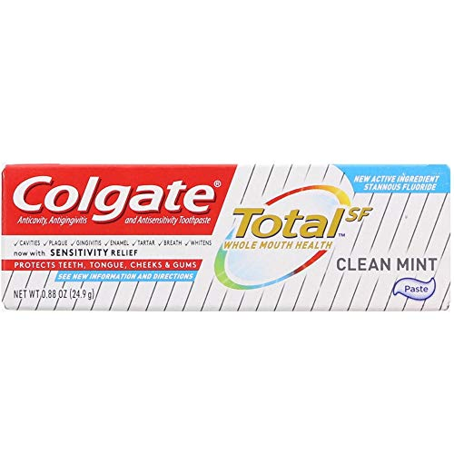 Price comparison product image Colgate Total Toothpaste Clean Mint 0.75 oz (Pack of 2)