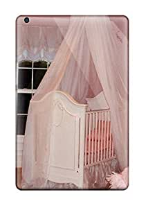 Renee Jo Pinson's Shop 9196604J36765423 New Arrival Premium Mini 2 Case Cover For Ipad (pink Princess Nursery With Silk Crib Canopy And White Accessories)