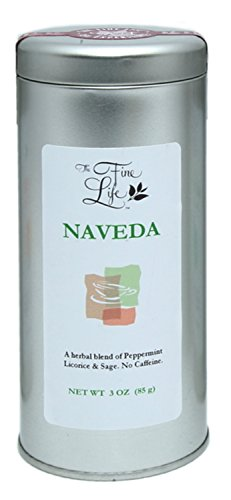 Gourmet Loose Leaf Teas (Herbal - Naveda - Sage & Peppermint) by The Fine Life