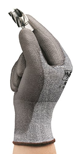 Ansell HyFlex 11-627 Lycra Light Duty Safety Glove with DSM Dyneema Technology, Abrasion/Cut Resistant, Size 9, Gray (Pack of 12 Pair) by Ansell (Image #4)