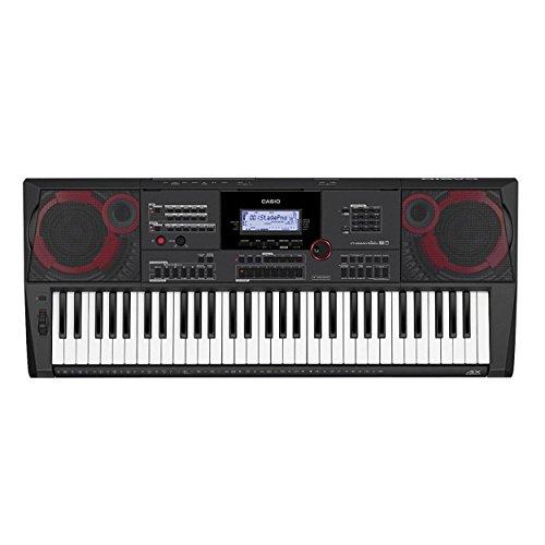 Keyboard Sam Ash (Casio CT-X5000, Black, 61 Keys Portable Keyboard)