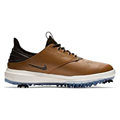 ENGINEERED PERFORMANCE - CLASSIC LOOK - Nike Air Zoom Direct Men's Golf Shoe is powered by a Zoom Air unit for responsive cushioning from the ground up. A durable synthetic leather upper and TPU heel counter provide a comfortable, stable feel...