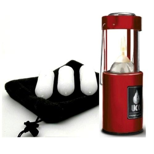UCO Original Candle Lantern, Red Value Pack, Outdoor Stuffs