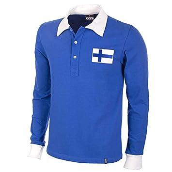 COPA Football - Camiseta Retro Finlandia 1955: Amazon.es: Deportes y aire libre