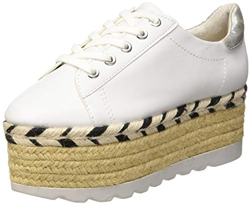 Zapatillas Para Gracen Bianco Guess Mujer leather derby TxtTw8P