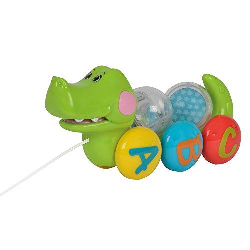 Simba toys simba abc pull along crocodile
