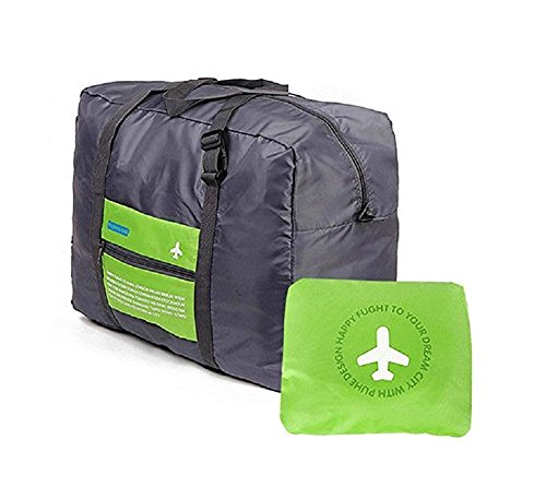 Travel Bag - Waterproof Travel Duffel Bag,Nylon Foldable Sports Duffel Bag For Travel,Campimg,Sports travel bag, Green