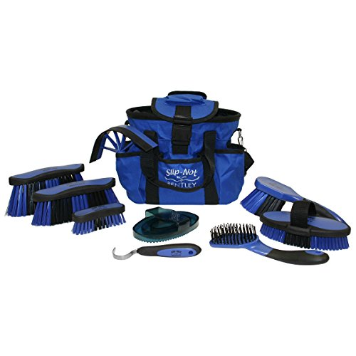 Bentley Brushes Deluxe Grooming Set With Microban Additives (One Size) (Blue) by Bentley Brushes