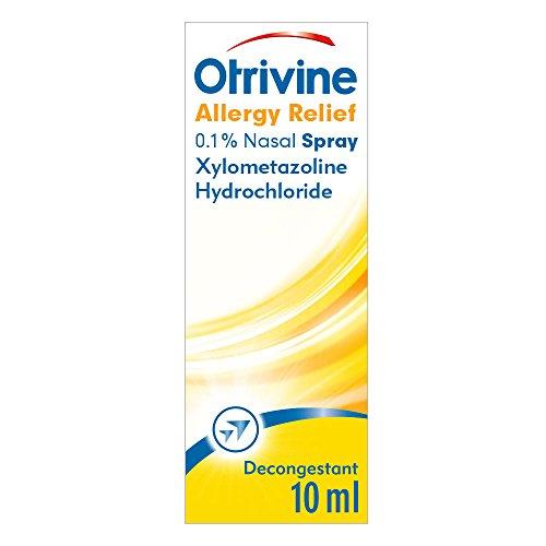 Otrivine 10ml Allergy Relief 0.1% Nasal …