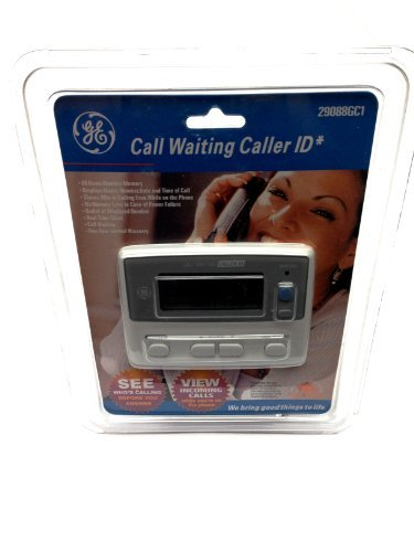 GE Call Waiting Caller ID 29088GC1, 80 Name/Number