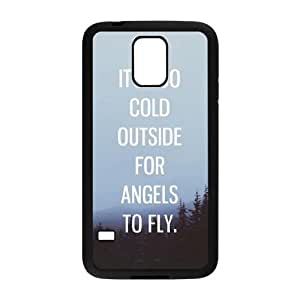 Ed Sheeran Quotes Samsung Galaxy S5 Cell Phone Case Black Delicate gift JIS_331425