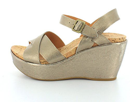 0 Womens Ease Soft Ava 2 Gold Kork Wedge 7RIqxqw
