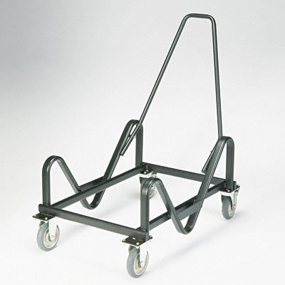 HON 4033T GuestStacker Truck Cart, 28-Chair Capacity, 21-3/8w x 35-1/2d x 37-7/8h, Black by HON