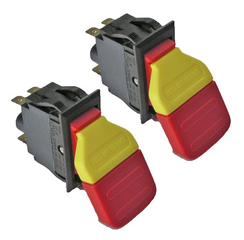 Ridgid EB44241 Sander R4512 Table Saw (2 Pack) Replacement Switch # 089038003701-2pk