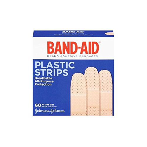 Johnson & Johnson Band-Aid- Plastic Strips (60 In 1 Pack)