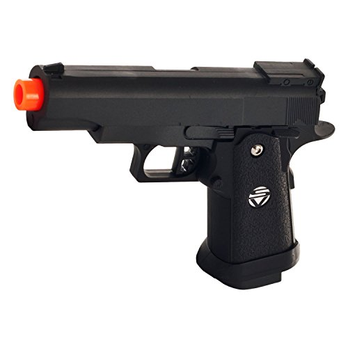 .10 zinc alloy shell heavy duty metal pistol with free 1000 bb's bullets ammo(Airsoft Gun) (Pistol Bullets)