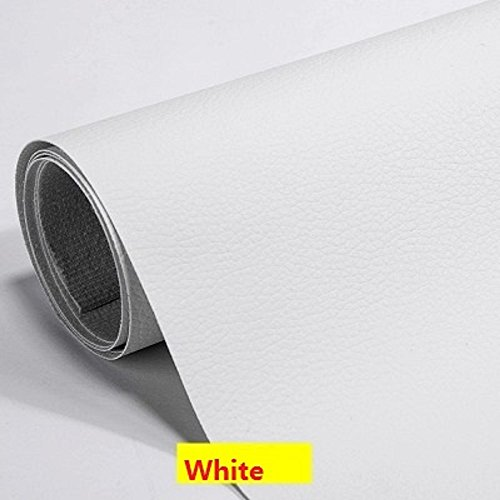 (Self Adhesive Leather PU Fabric Repairing Patches for Sofa, for Car Seats, for Clothing (Width 19.6