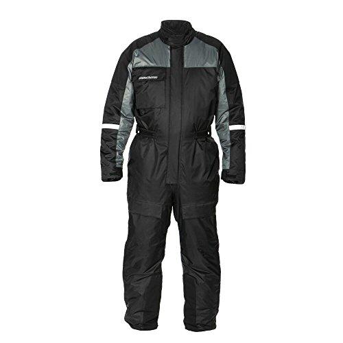 Fieldsheer Adventure Pant - Fieldsheer Men's Polar Suit (Black/Gunmetal, Large)