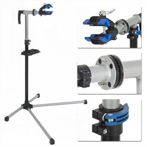 Best Choice Products Pro Bike Adjustable Repair Stand with Telescopic Arm Cycle Bicycle Rack