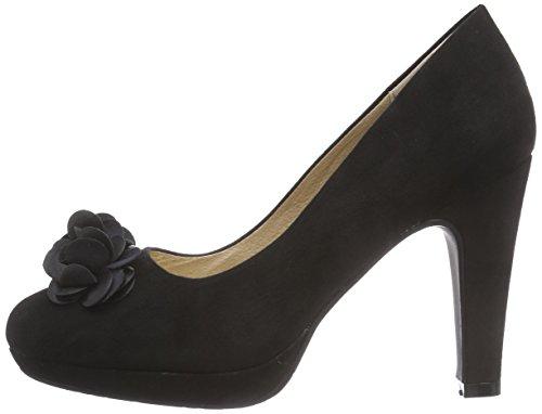 Plateau Femme Stockerpoint black Chaussures 6080 Noir Talons Avec À wS6qa