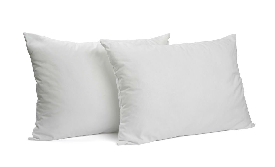 America's Pillow – Queen Size Bed Pillows 2 Pack with Patented Premium Poly Fiber Fill – 100% Craftsmanship and Materials Made in USA (Certified) - No Questions Asked Satisfaction Guarantee