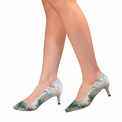 Scarpe Da Donna Low Cost Scarpe Col Tacco Alto Gattino A Punta Piatta Scarpe Da Pavone Multi 1