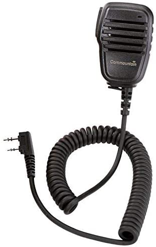 Perfect Speaker Mic for Baofeng Radios BF-F8HP, UV-82HP, UV-82C, BF-F9, UV-82, UV-5R, UV-5R5, UV-5RA, UV-5RE and UV-5X3.