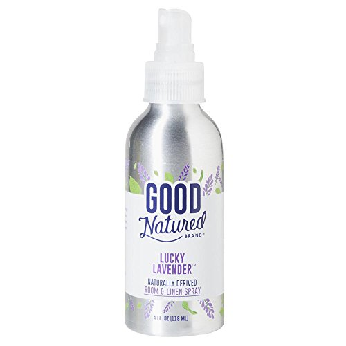 Good Natured Brand All-Natural Eco-Friendly Lavender Room & Linen Spray (All Natural Spray)