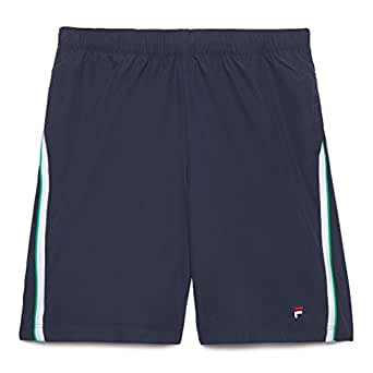 Fila Heritage Shorts, Peacoat / White / Ten Green, Large