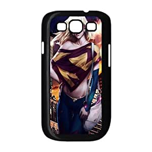 ZK-SXH - supergirl Customized Hard Back Case for Samsung Galaxy S3 I9300,supergirl Custom Phone Case