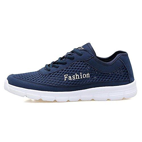 fonc Shufang Bleu Mode shoes Baskets Homme pour 4q4YOBr