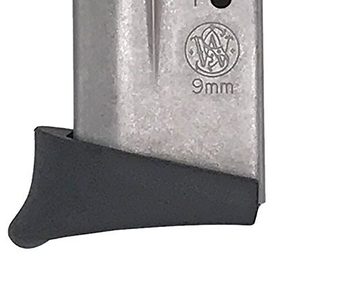 Top Shot Pros - Smith and Wesson Shield Grip Extension 9mm/.40 CAL - M&P Shield Grip Extension Will Enhance the Control and Comfort of Your Firearm (9mm 8 Round Magazine)