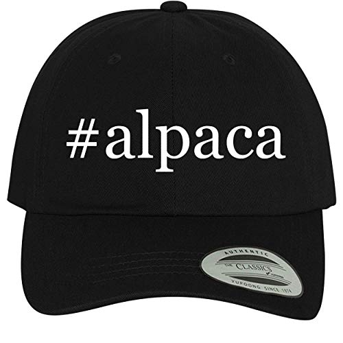 BH Cool Designs #Alpaca - Comfortable Dad Hat Baseball Cap, Black