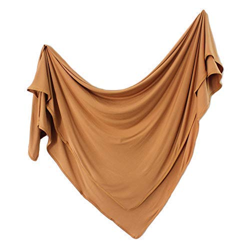 Jersey Swaddle Blanket, Baby Blanket, Boys or Girls, Nursing Cover by Lubella Supply Company (Desert)