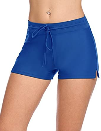 2520c4e064 Avidlove Women's Beach Bottom Sports Swim Board Shorts(Blue, ...