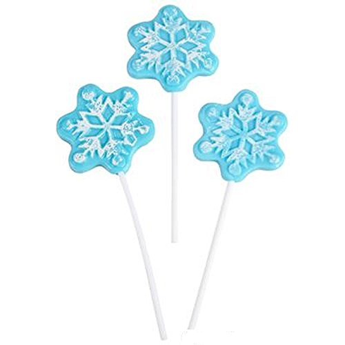 SNOWFLAKE LOLLIPOP WITH 4