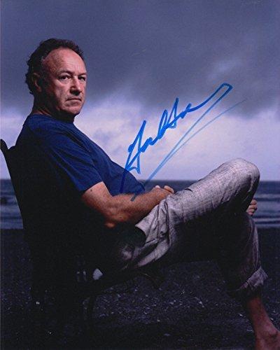 Hackman Signed Gene (Gene Hackman signed 8x10 photo)