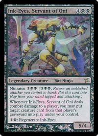 Magic: the Gathering - Ink-Eyes, Servant of Oni - Prerelease & Release Promos - Foil